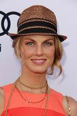 Angela Lindvall at the 1st Annual Children Mending Hearts Style Sunday, Private Location, Beverly Hills, CA 06-09-13