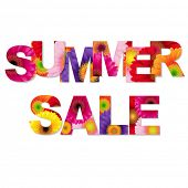 Colorful Summer Sale Poste