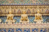 Garuda In Wat Phra Kaew Grand Palace Of Thailand