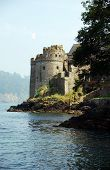 picture of dartmouth  - A Landscape of Dartmouth Castle - JPG