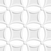 Geometric White And Gray Pattern With Pointy Squares