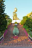 Stairs To Phra Phuttha Kitti Siri Chai Buddha Statue