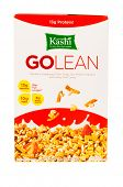 HAYWARD, CA - July 17, 2014: 13.1 oz of Kashi GOLEAN cereal