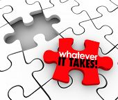 You'll Fit Right In words on a puzzle piece to fill a gap in a group, team, company