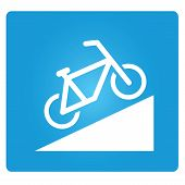 bicycle up way symbol