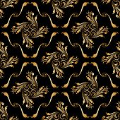 Vector Ornamental Seamless Background.