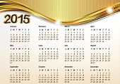 Calendar 2015 - vector illustration