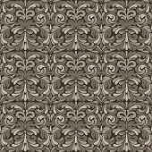 Patina baroque pattern