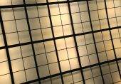 Yellow And Brown Illuminated Ceiling