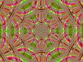 Creative Background. Kaleidoscope.  A Wonderful Harmony Of Colors. A-0070