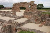 Wroxeter ruined Roman bath house