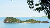 High Viewpoint Ko Maphrao Island In The Ocean