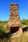 Ruins of CCC camp Palo Duro Caynon