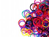 Colorful Rubber Band.