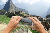 Machu Picchu Smartphone Photo
