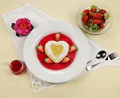 Heart Shaped Pancake