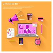Management objects, business and office items
