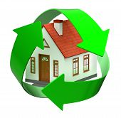 recycle house