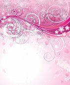 Pink des Frühlings