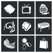 Leisure Vector Icons Set