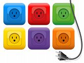 Plug Outlets Color