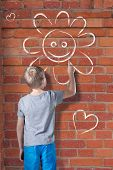 Drawing On Wall