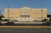 Greek Parliament Building in front of Syntagma Square