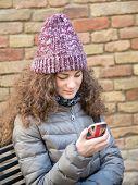 Girl Messaging
