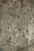 The Torn-off Wall-paper On A Wall
