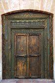 Ancient Eastern Indian Wooden Door