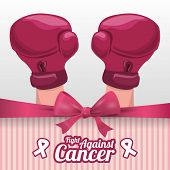 picture of causes cancer  - Cancer design over white background - JPG