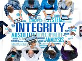 foto of earth structure  - Integrity Structure Service Analysis Value Service Concept - JPG