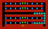 picture of pixel  - Train retro old style game pixelated graphics - JPG