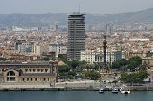 Barcelona From Harbour