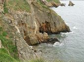 picture of ireland  - A view of the sea from the coast of Ireland  - JPG
