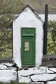 Antique Victorian Mail Box In Ireland