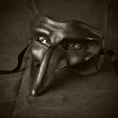mask with eyes