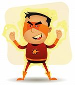 Poder Boy - superhéroe de cómic