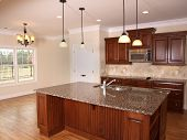 Luxury Kitchen With Island 2