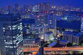 Cityscape at Minato Ward, Tokyo, Japan.