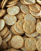 foto of sult  - sult and sweet crackers  - JPG