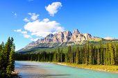 Castle Mountain, Banff National Park, Canada