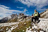 Wandern in Dolomiten