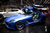 GENEVA - MARCH 8: The Fab Design car on display at the 81st International Motor Show Palexpo-Geneva