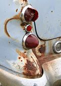 Old Broken Taillight