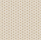Fine Seamless Japanese Pattern Kumiko For Shoji Screen.great Design For Any Purposes. Japanese Patte poster