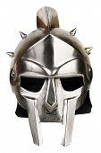 Iron Roman Legionary Helmet