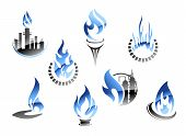 Gas And Oil Industry Symbols