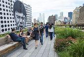 High Line Park en Nueva York