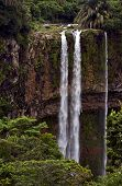 image of chamarel  - chamarel falls in the isle of mauritius - JPG